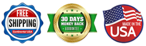 Free Shipping with 30 Day Money Back Guarantee